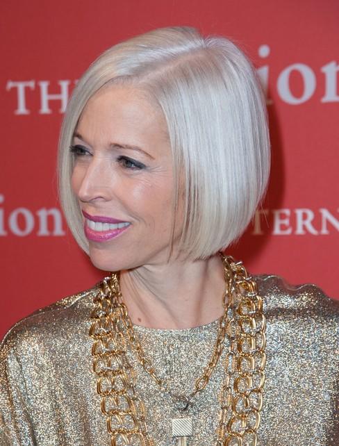 Straight Bob Hairstyles for Older Women: Linda Fargo Short Hair Cut