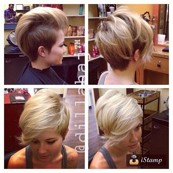 Trendy Short Haircut for Summer