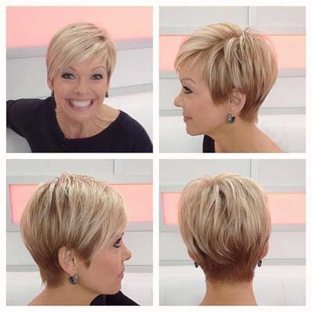 Trendy Short Haircuts For Older Women 40 50