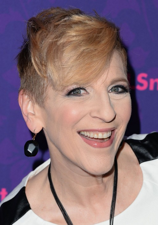 Trendy Short Pixie Haircuts for Older Women: Lisa Lampanelli Hair Style