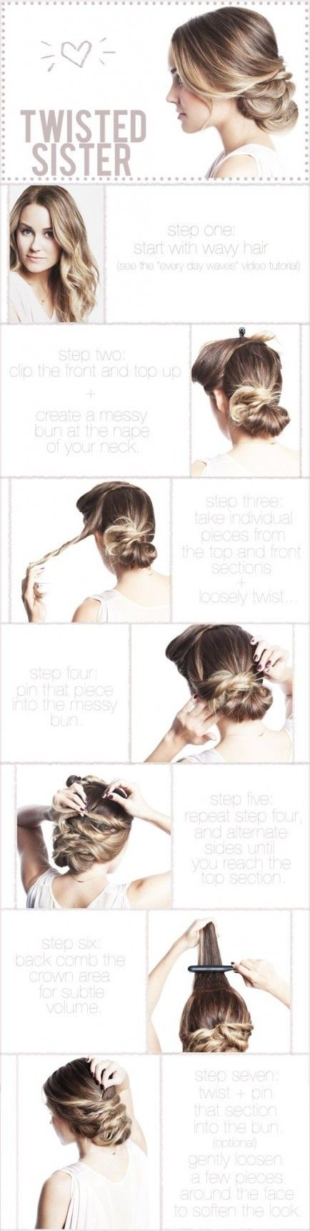 Twisted Updo Frisur Tutorial