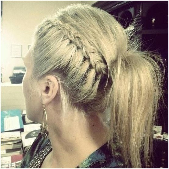Braided Ponytail Hairstyles for Work