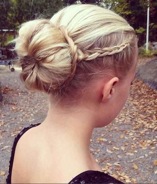 Braids Bun Updos Ideas: Prom Hairstyles 2014- 2015