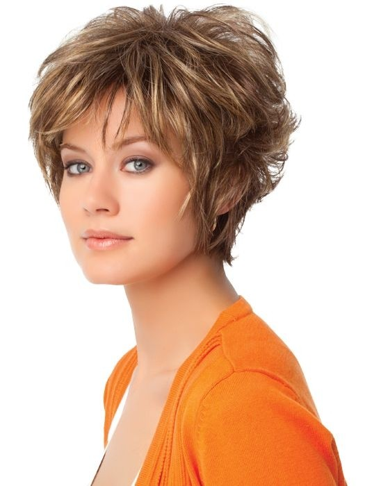 Layered Short Hair: Cute Short Hairstyles Side View / Via