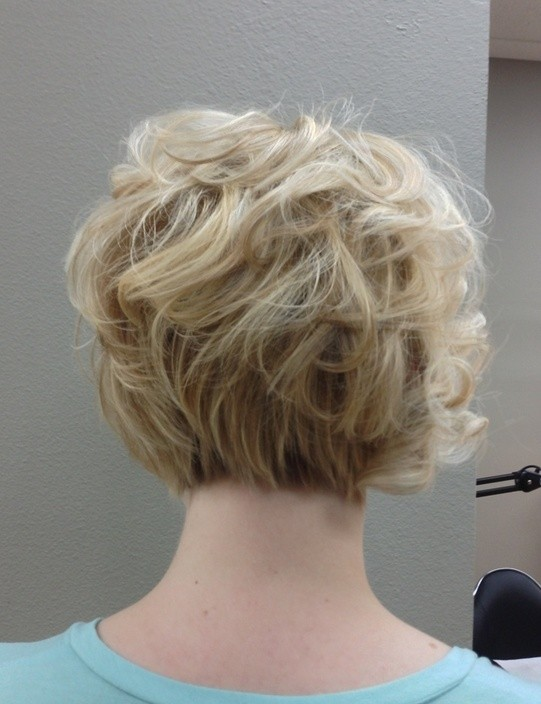 Back View Shoulder Length Layered Haircuts For Thick Hair 91