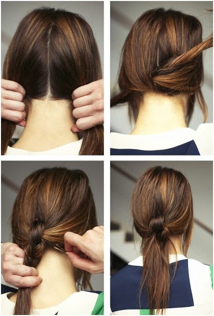 Cute And Easy Ponytails Hairstyles For Women Girls