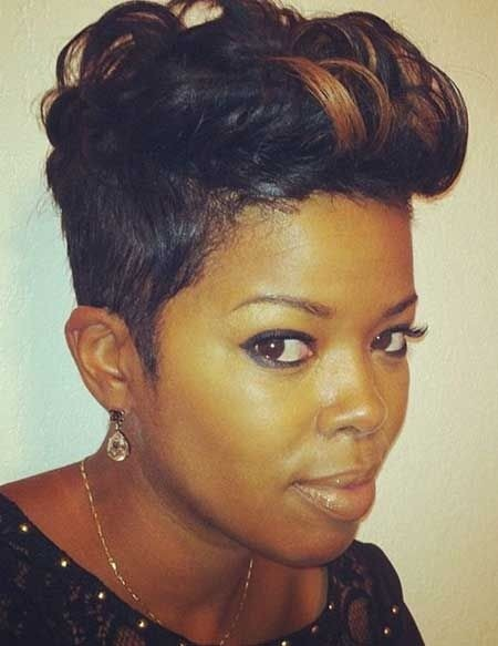 cute short haircuts for black girls 16 hairstyles for hair popular haircuts 3471 | Cute Short Hairstyles for Black Women
