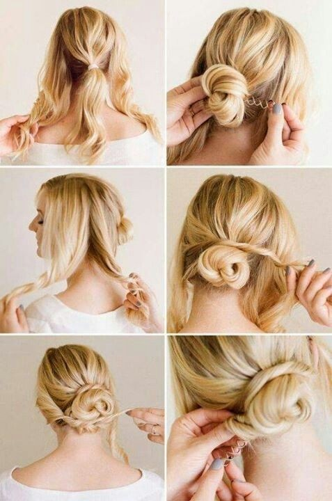 Cute and Easy Updo Hairstyles Tutorial for Wedding