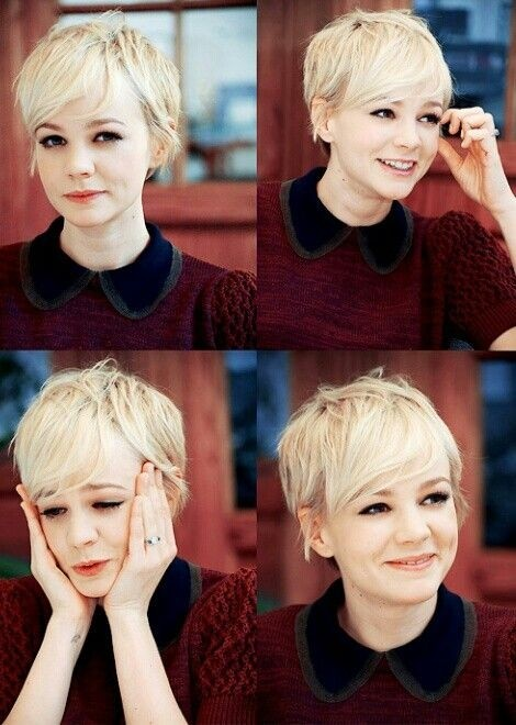 Cutest Pixie Hairstyles with Side Bangs: Short Fine Hair
