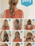 Cutest Twisted Ponytail Hairstyles Tutorial