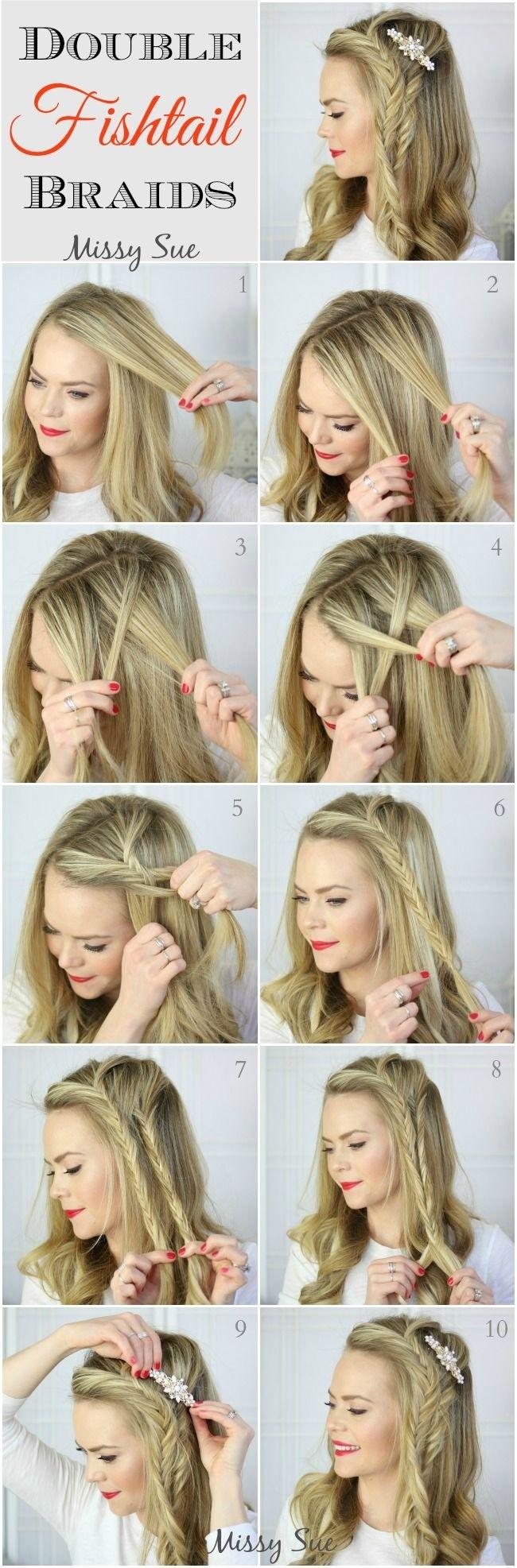 Groovy 10 French Braids Hairstyles Tutorials Everyday Hair Styles Short Hairstyles For Black Women Fulllsitofus
