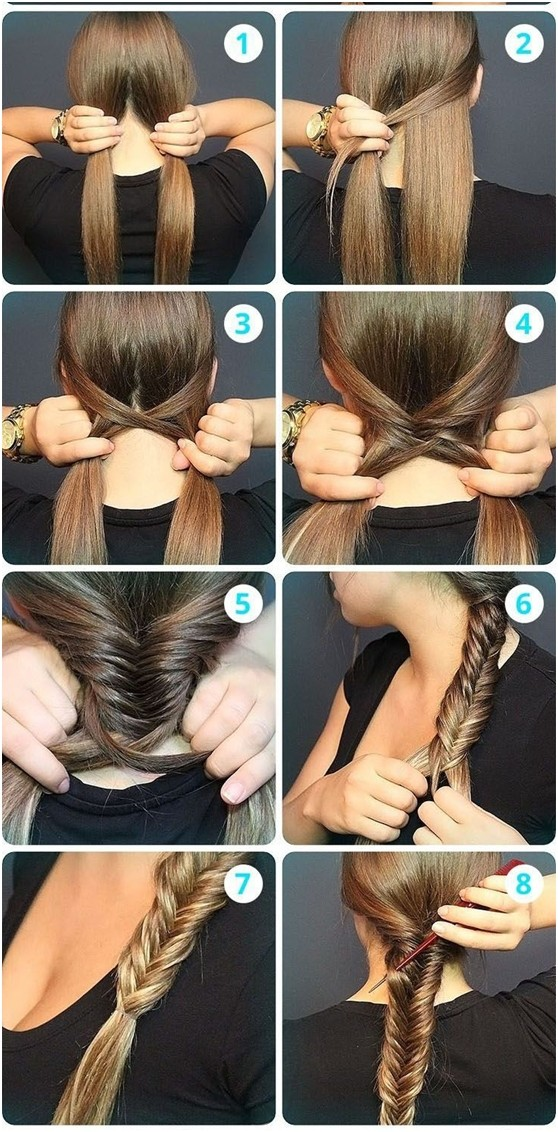 fishbone braid instructions - photo #6