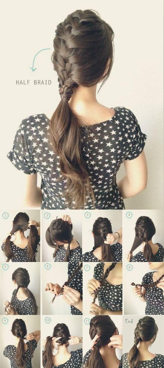 Astounding 10 French Braids Hairstyles Tutorials Everyday Hair Styles Short Hairstyles Gunalazisus
