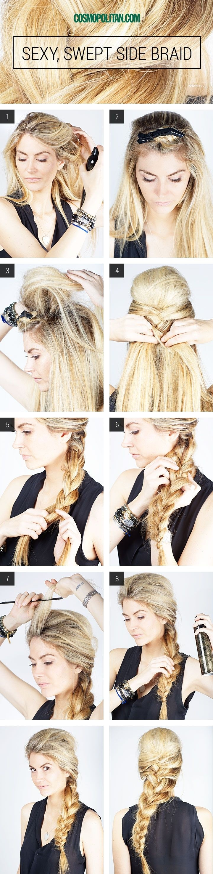 10 french braids hairstyles tutorials: everyday hair styles