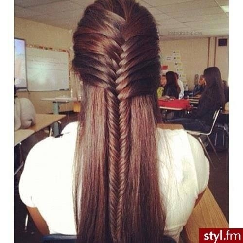 French Fishtail Ponytail Ideas