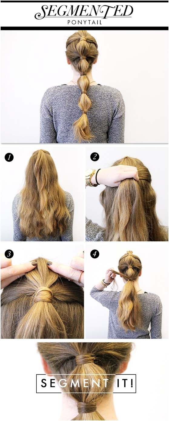 Holiday Ponytail Hairstyle Tutorial: Long Hair Ideas