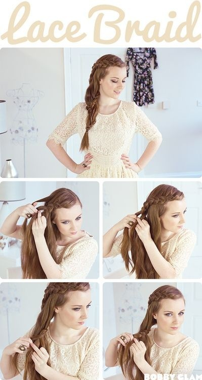 How To Do Side Braided Hairstyle: Step By Step For Long Hair