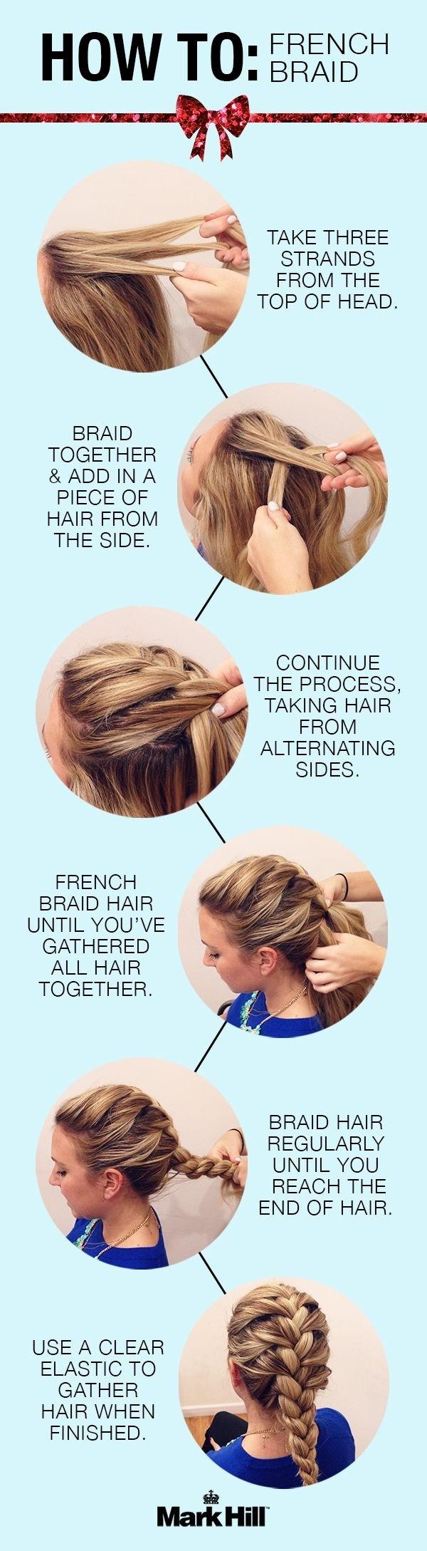 Amazing 10 French Braids Hairstyles Tutorials Everyday Hair Styles Short Hairstyles Gunalazisus