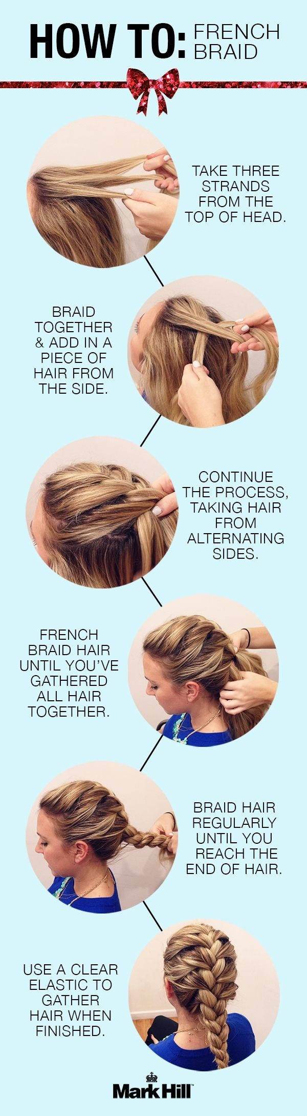 Strange 10 French Braids Hairstyles Tutorials Everyday Hair Styles Hairstyle Inspiration Daily Dogsangcom
