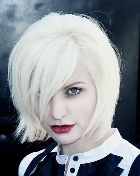 Light Blonde Bob Hairstyles