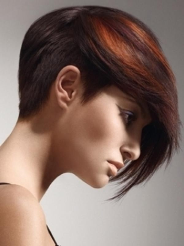 Long Pixie Cut: Trendy Hair Color
