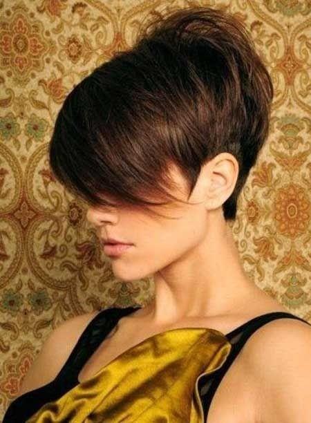 Pixie Haircut Side View