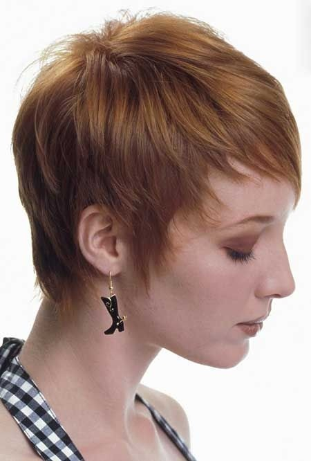 Short Pixie Hairstyles for Fine Hair: Women Haircut