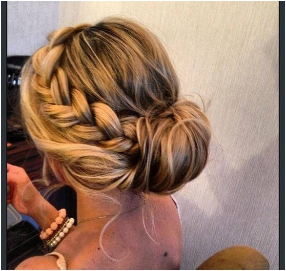 15 Braided Bun Updos Ideas Popular Haircuts