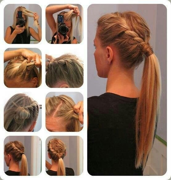 Braids Ponytail Hairstyles for Everyday: Low Ponytail Tutorial
