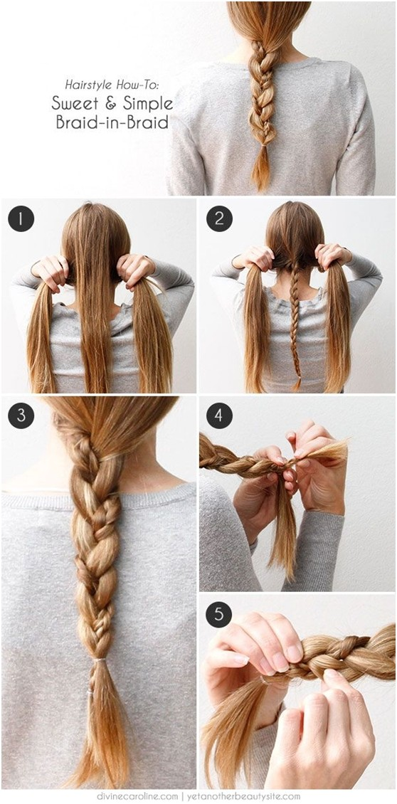 easy hair braiding styles 15 trendy braided hairstyles popular haircuts 7722