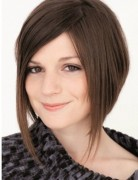 Chic Medium Bob Haircut for Straight Hair: A Line Bob