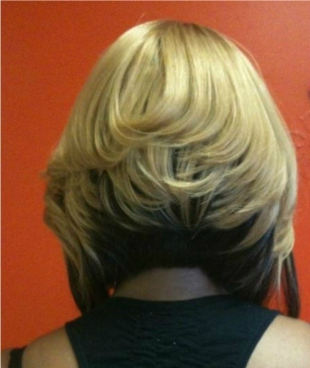 Chin-Length Hairstyles Back View