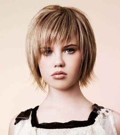 Cute A Line Bob for Girls