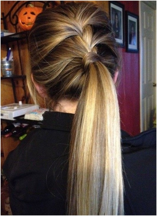 Amazing 14 Braided Ponytail Hairstyles New Ways To Style A Braid Zoepfe Hairstyles For Women Draintrainus