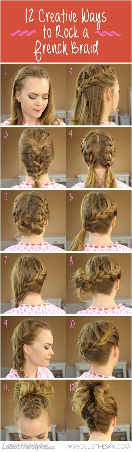 Cute French Braid Tutorial
