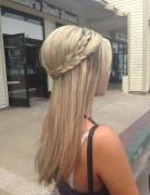 Cute Half Up Braid: Long Hair Ideas for 2014 - 2015