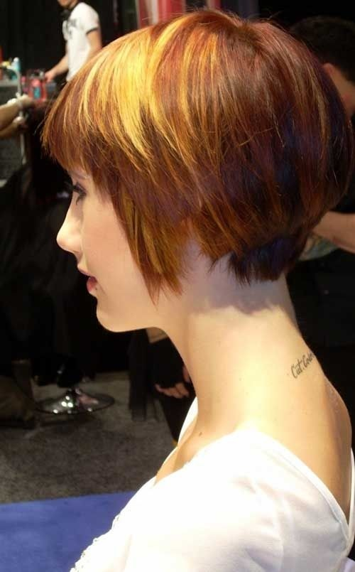 Cute Short Hairstyles Side View