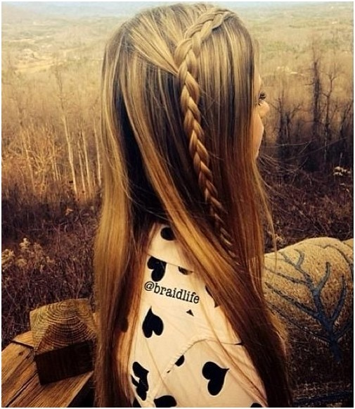 DIY Braided Hairstyles: Cute Long Straight Hair for Girls