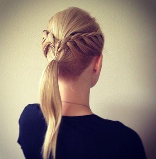 Remarkable 14 Braided Ponytail Hairstyles New Ways To Style A Braid Zoepfe Short Hairstyles Gunalazisus