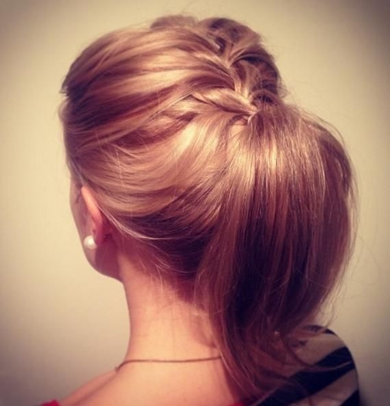 Easy Braided Ponytail: Summer Hairstyles