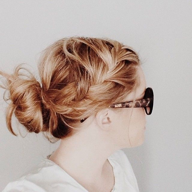 Everyday Hairstyles for Braid Bun
