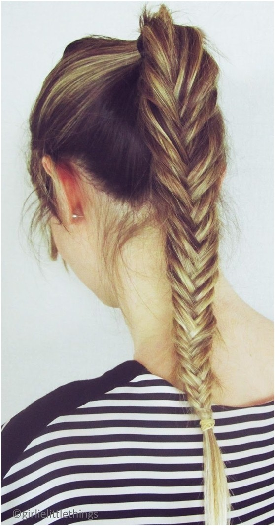 10 fishtail braid ideas for long hair popular haircuts for Fish tail hair