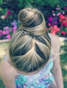 French Braid Bun Updos