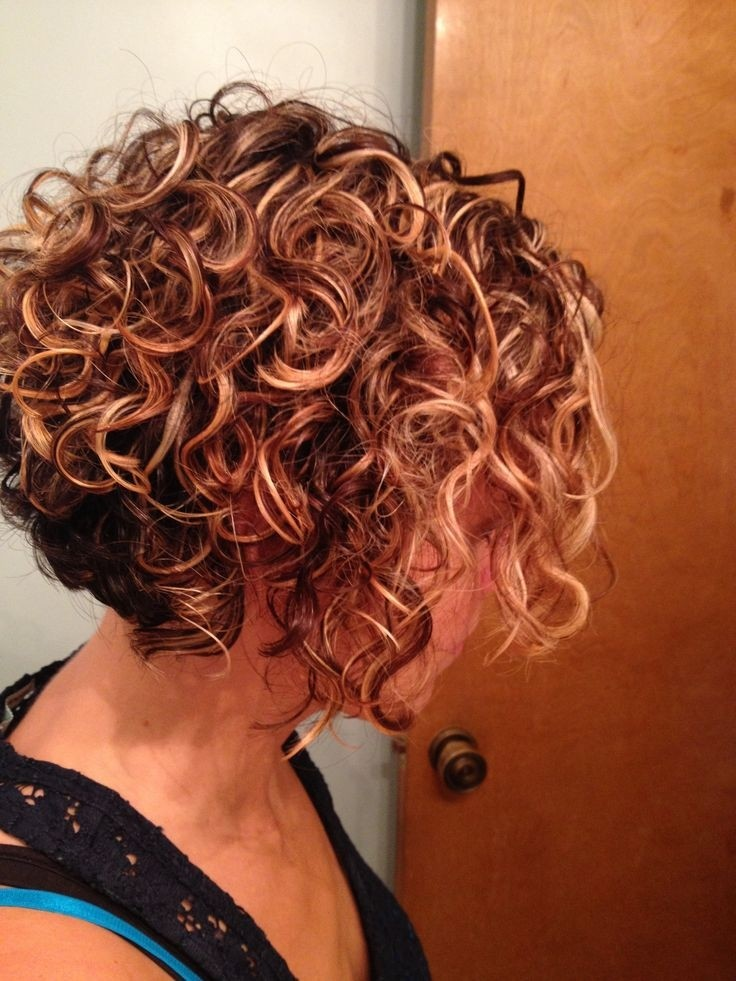 Short Hairstyles For Curly Hair Women 87