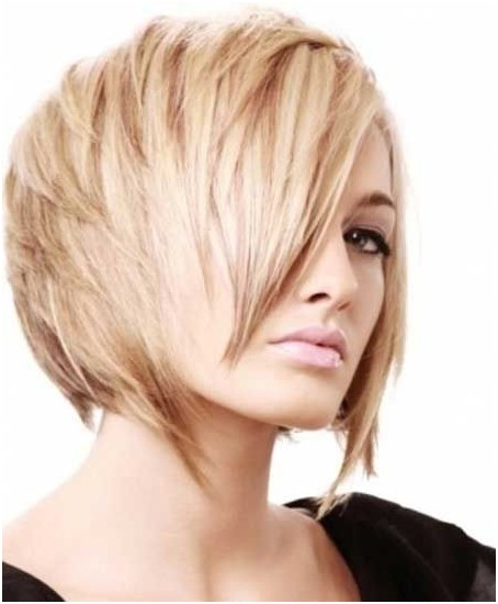 Layered A-Line Bob Haircuts: Blonde Short Hair Ideas