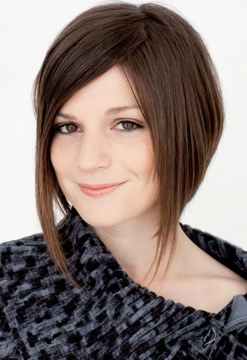 Long A-line bob for Straight Hair: Best Short Hair