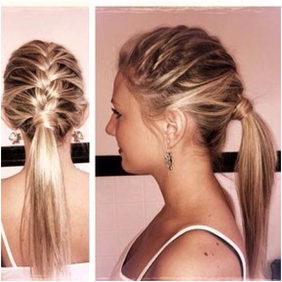Stupendous 14 Braided Ponytail Hairstyles New Ways To Style A Braid Zoepfe Short Hairstyles Gunalazisus