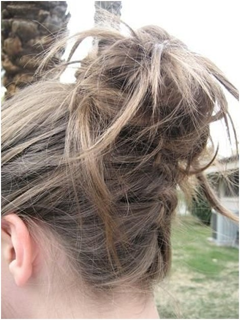Messy Braided High Bun Updos: Updo Hairstyles for Summer