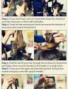 Messy Top Knot Hairstyle: High Bun Updos Tutorial