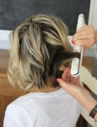 Perfect Waves Hairstyle for Short Hair: Back View